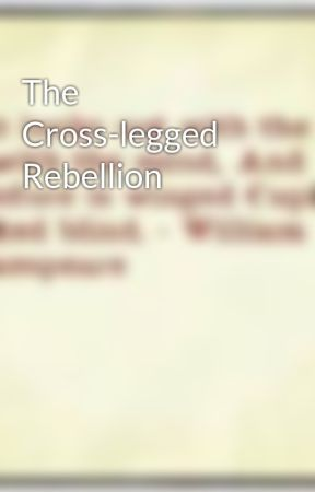 The Cross-legged Rebellion by CeciliaPeven