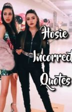 Hosie Incorrect Quotes by heavby_200