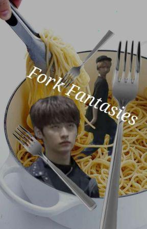 Minhoe x Jislut - Fork fantasies  by gorgeousgarbage666