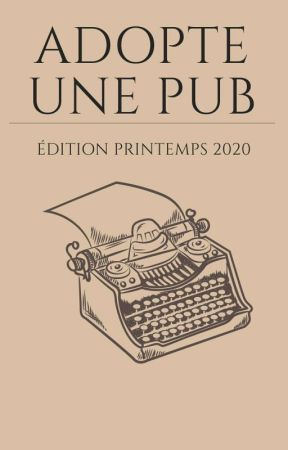 Adopte une pub - Printemps 2020 by thecatsy