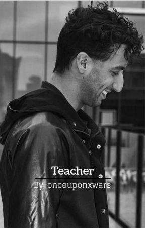Teacher   Daniel Ricciardo  by Onceuponxwars