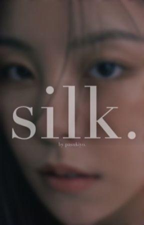 silk.   peter parker. by pasukiyo