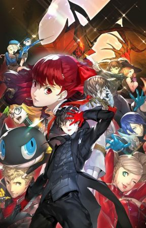 Demons of my Past (Persona 5 male reader insert) by Living_Power18