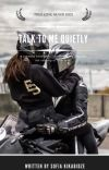 Talk To Me Quietly cover
