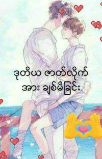 ဒုတိယဇာတ္လိုက္အား ခ်စ္မိျခင္း  ဒုတိယဇာတ်လိုက်အားချစ်မိခြင်း (Zawgyi+ui) cover