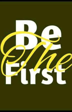 مسابقة كُن الأول by Be_First