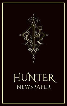 HUNTER NEWSPAPER by hunterspin88