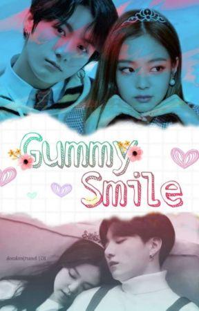 Gumy Smile - Jenkook  by Gatito120
