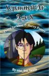 Separated at age 8 Percy and Harry Potter cover