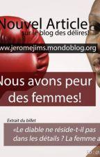 Nous avons peur des femmes! by Jimsjerome