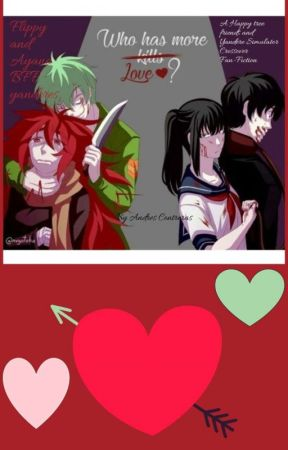 Flippy and Ayano BFF yanderes by Mexicanmustache900