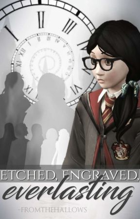 Etched, Engraved, Everlasting (a Hogwarts Mystery Year 6 Retell) by -fromthehallows