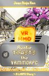 Auntie toasts the VRMMORPG cover