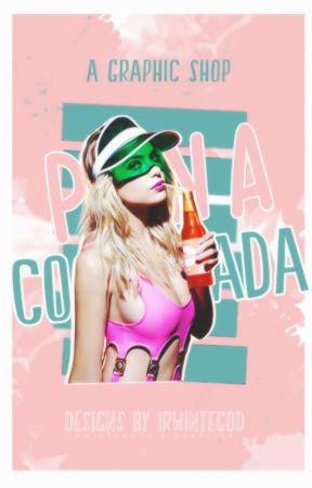 P I N A C O L A D A || A cover shop [o p e n] by irwinthegod