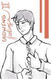 Growing Feelings 2 (Bertholdt x Reader) College AU cover