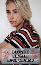 Blonde Female Face Claims by FinnishUnicorn