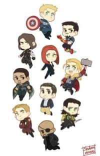 ~Avengers Chatroom~ cover