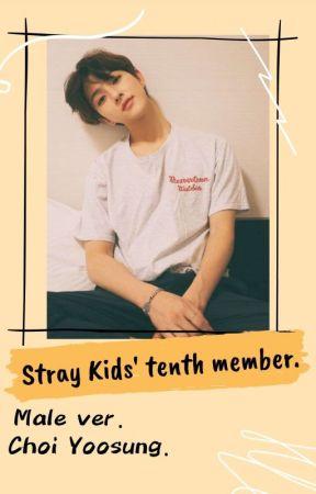 ❝Stray Kids' ninth member; Choi Yoosung.❞ || Si estuvieras en SKZ, Male version. by CamuKamu