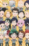 Bnha react to AUs cover