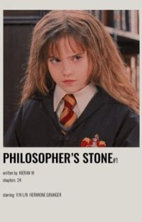 The Philosopher's Stone | Hermione Granger x Male Reader (Book One) cover