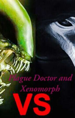 Plague Doctor and Xenomorph by TroyAcapen2