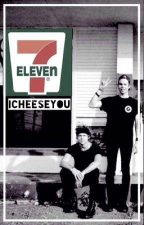 7-Eleven [Lashton AU] by iCheeseYou