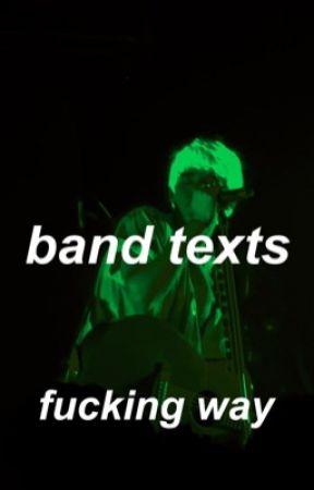 emo band texts 2 // emo quartet au by fucking-way