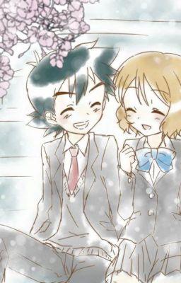 [(Satoshi x Serena)(Amourshipping)]: Bằng lăng tím.