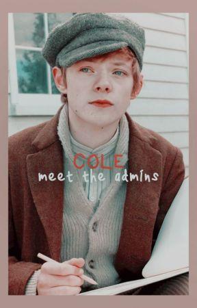 COLE, meet the admins. by awaeclub