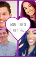 The day I met you ( Sasha Bank X OC ) by TheGoatTHEMAN