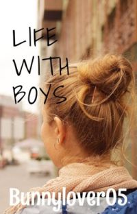 LIFE WITH BOYS cover