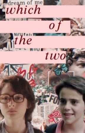 Cual de los dos ☁️✨~ Richie, Eddie y tu  [de momento cancelada] by emmaaweasley