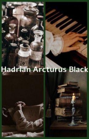 Hadrian Arcturus Black || Harry Potter by bi_ology