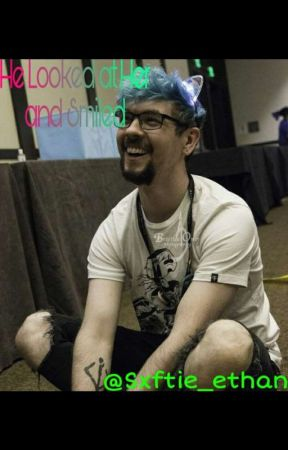 He Looked At Her And Smiled//Jacksepticeye X Reader by arson_is_cool