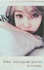 ×× fake instagram posts ×× [ moon byulyi x kim seokjin ]  by ahjinzegag