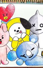 How to draw Bt21 by ucuucuna