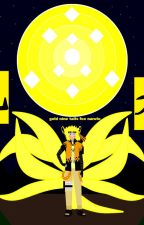 naruto the golden fox demon by justingame44