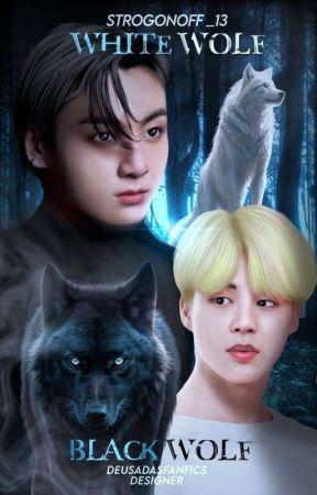 •| White Wolf Black Wolf |• Kookmin ABO  by Strogonoff_13