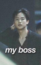 my boss | ijb  by cosmictuan