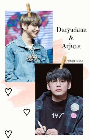 DURYUDANA & ARJUNA (Ongniel)  by Kvedaka_