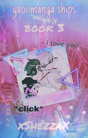 ✿.。.:* ☆:**:. Splatoon Manga Yaoi Pictures ★ Book 3 .:**:.☆*.:。.✿ by xShezzax