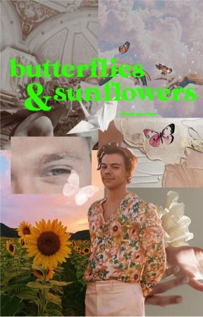 Butterflies & Sunflowers   narry by ohmynarries