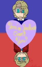 You're Jealous, Aren't You? (Felix x Kid) *Kindergarten Game Fanfic* by CringyDorkDrawer