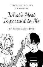What's Most Important to Me ↬ [Todoroki x Reader x Kaminari] by todorokishoto4869