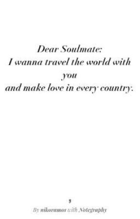 Dear Soulmate (A Rikara Story) by Imperfectlyperfect04