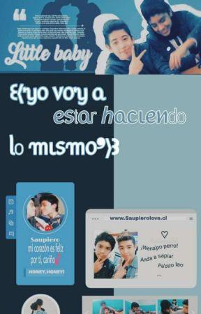 ❝ᏚauPiero❞Yo Voy A Estar Haciendo Lo Mismo♡࿔ by Empanada_Chocolate