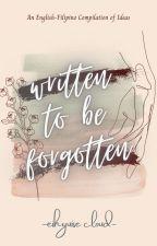 Written to be Forgotten ni Eihyuise_Cloud