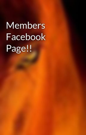 Members Facebook Page!! by TheHorseWritersClub