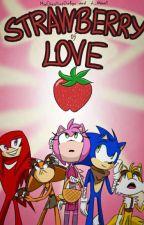 """Strawberry of Love"" Sonamy Boom comic  by L1Atena1"