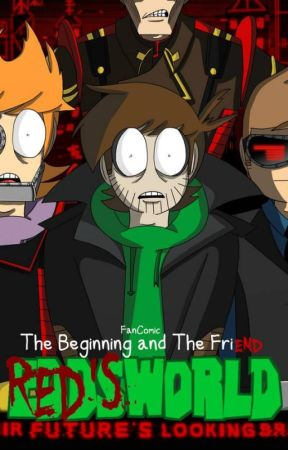 Eddsworld fancomic The Beginning and the friend ( Redsworld) by selenehawkodile